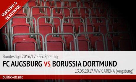 Augsburg - BVB Tickets (13.05.2017)