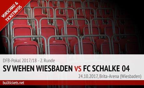 Wiesbaden Schalke DFB-Pokal Tickets (24.10.2017)