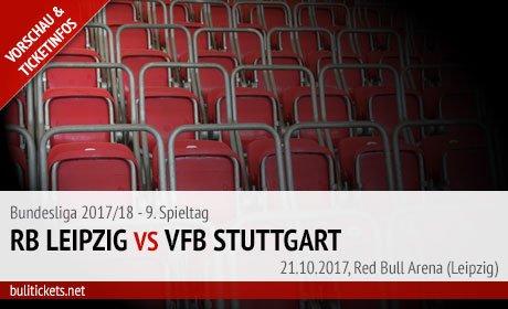 Leipzig VfB Bundesliga Tickets (21.10.2017)