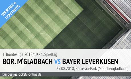 Leverkusen Gladbach Tickets