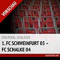DFB-Pokal Tickets: 1. FC Schweinfurt 05 – FC Schalke 04, 17.08.2018