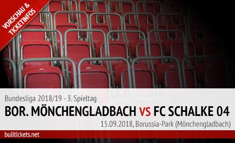 Tickets: Mönchengladbach – FC Schalke 04 (15.09.2018)