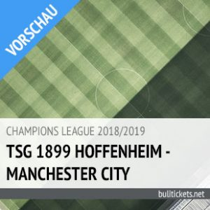 Hoffenheim Man City Tickets (02.10.2018)