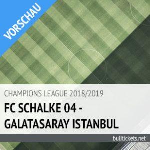 Galatasaray - Schalke Tickets (06.11.2018)