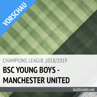Tickets: BSC Young Boys - Manchester United (19.09.2018)